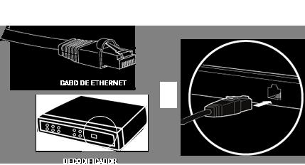 ilustração de conexão com aparelho Claro HDTV